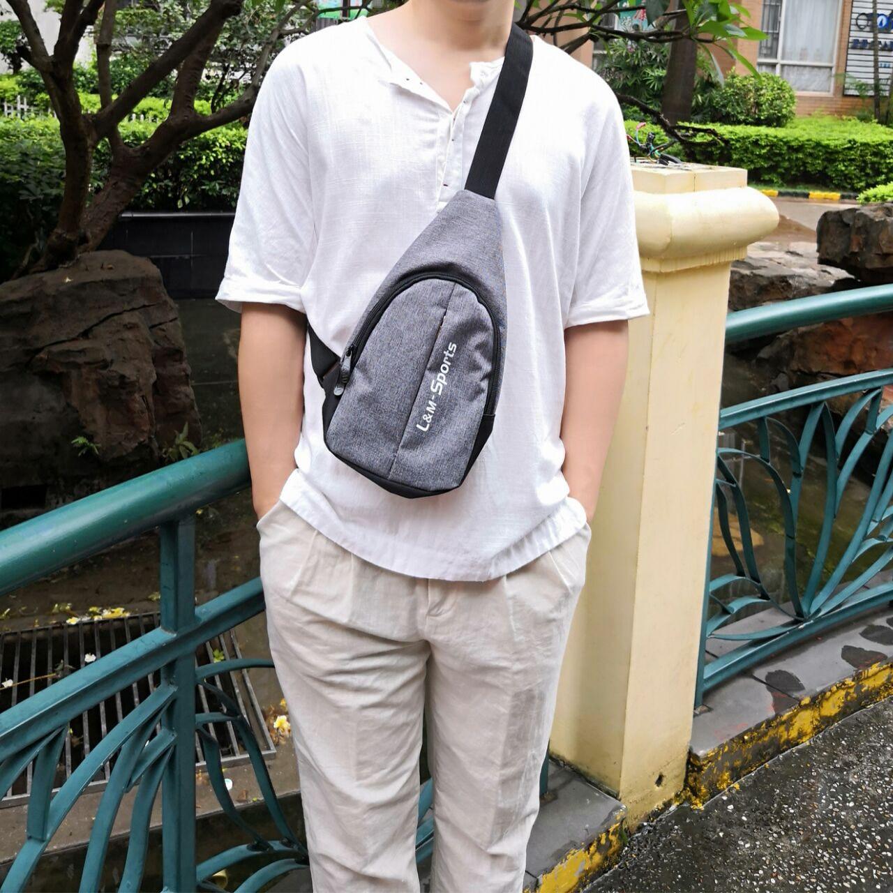 Messenger Bag Multipurpose Chest Pack Sling Shoulder Bags for Google Pixel  3 XL  561ed1a74b5da
