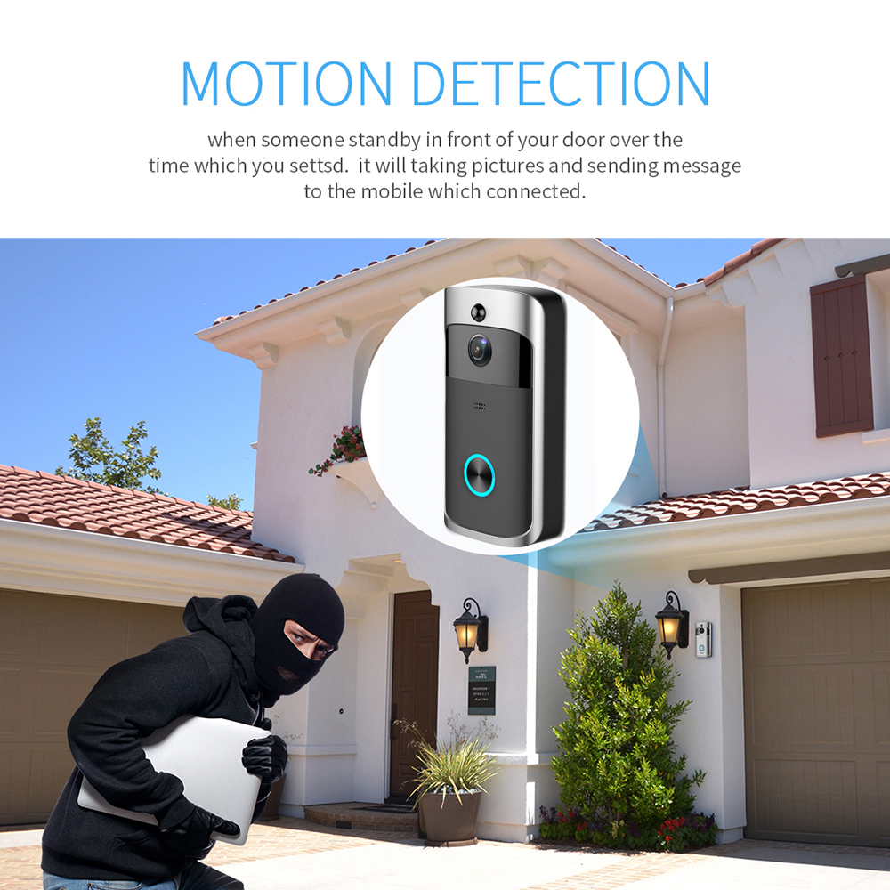 Human - RingSmart™ Wireless Video Doorbell Best Ring Doorbell Alternative