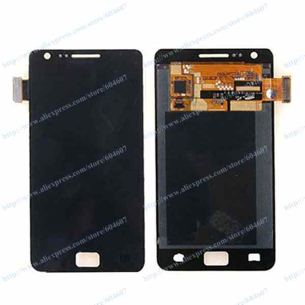 New White or Black OEM Touch screen with Digitizer+LCD Display Assembly For Samsung Galaxy S2 I9100 GT-I9100 Phone