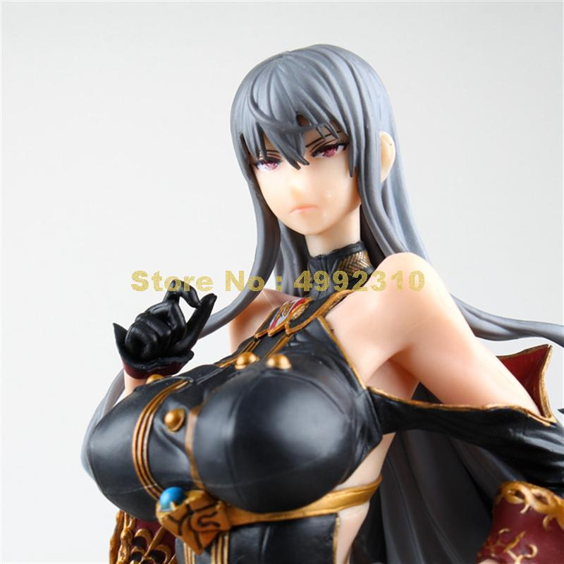 Image 4 - anime valkyria chronicles cosplay selvaria bles pvc action figures model doll 28cm ToyAction & Toy Figures   -