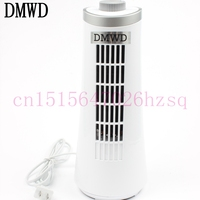 Portable Tower Fan Plastic Mute Energy Saving Electric Fan 220V Home Office Silent Desktop No Leaf