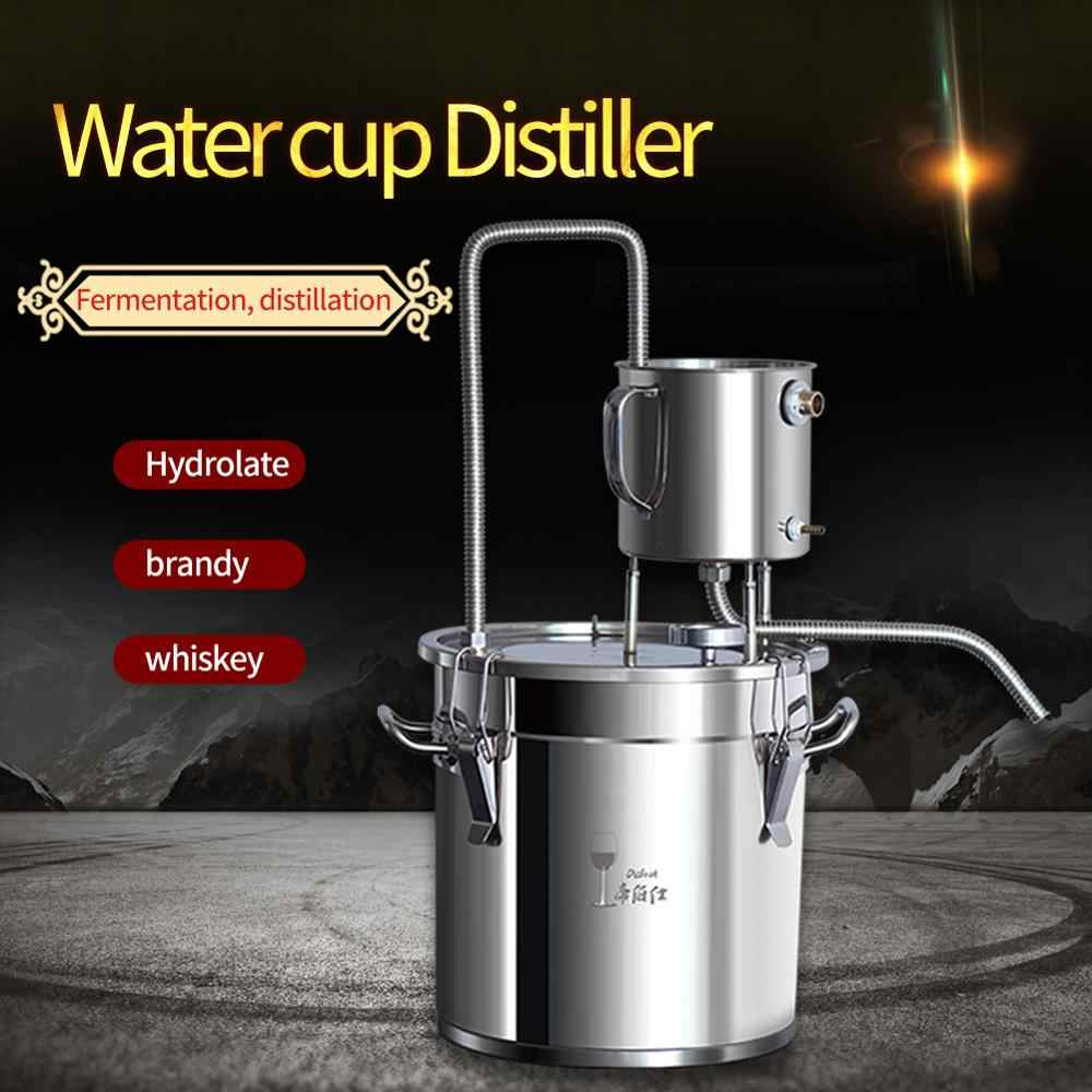 20L Water cup distiller family winemoonshine distiller brandy vodka liquor distillation machine equipment
