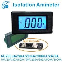 LCD AC 20mA 200mA 2A 10A Medidor de Corrente Três e Um metade de Cristal Líquido LCD AC Digital Amperímetro Medidor de Corrente Digital de Cabeça ICL7106
