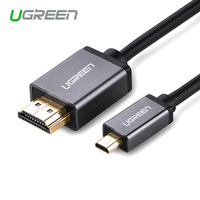 Ugreen Micro HDMI To HDMI Cable 1 4 Phone Tablet Connection Television Mini Head Size Head