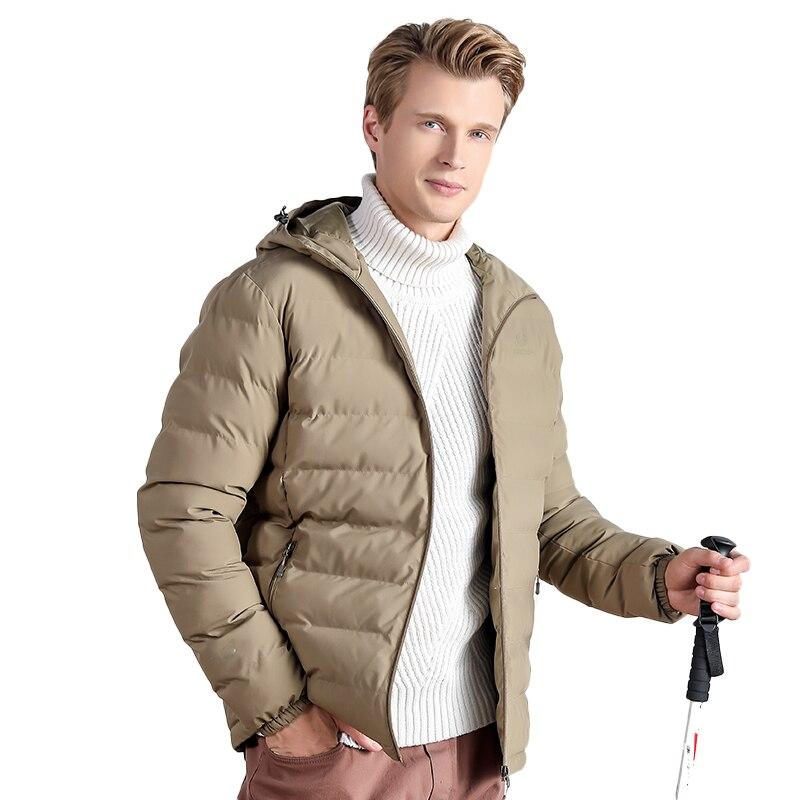 Winter Jacket Men Cotton Coat Thicken Waterproof Windproof Warm Brand Clothes Outdoor Hiking Climbing Ski Winter Coat Male