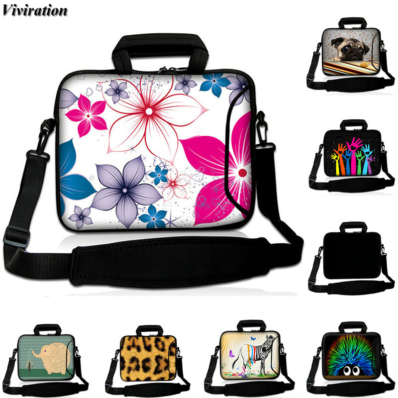 Viviration Women Messenger Case 14 Inch Notebook Bag 15 13 12 17 10 Inch Computer Case 17.3 15.6 Inch Sleeve Cover For Dell Acer
