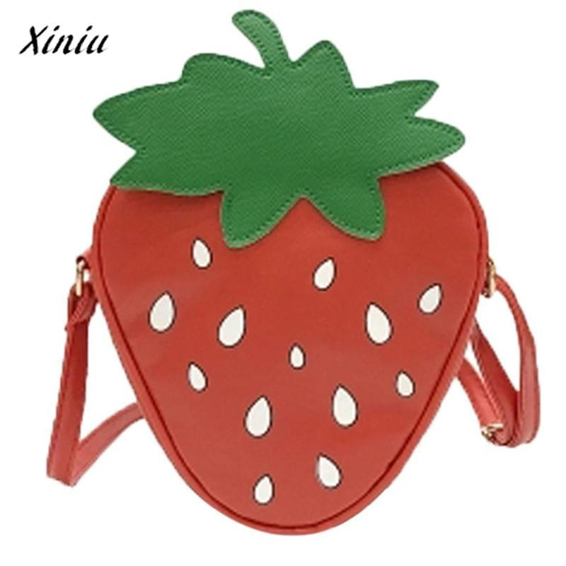 xiniu kids Crossbody Bag Money bags purse wallet carteiras Fruit Cartoon Bags Casual Dollar price Portomonee Phone Coin Purses