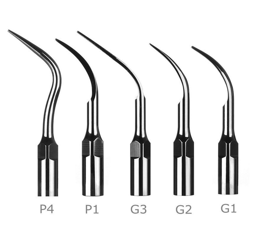5 New dental scaler scaling tips for EMS WOODPECKER G1 G2 G3 P1 P4 good quality dhl ems new a1ncpup21 a1ncpu p21 for good quality plc