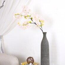 wedding decoration Christmas decor silk Sakura cherry blossom DIY Cherry trees artificial flower flores fake tree branche