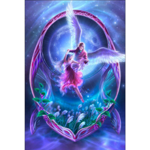 Elf girl diamond Embroidery diy painting mosaic diamant 3d cross stitch pictures H395