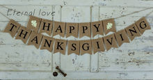 Happy Thanksgiving Burlap Banner,Happy Thanksgiving Banner,Thanksgiving   Decor,Thanksgiving Photo Prop,Mantel Decor