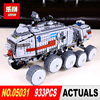 LEPIN 05031 933Pcs Star Wars Clone Turbo Tank Building Blocks Compatible With 75151 STAR WARS Toy