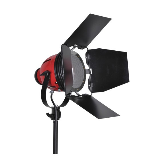 ФОТО ASHANKS 800W Studio Video Red head Light with Dimmer Continuous Lighting +  Bulb Free Shipping