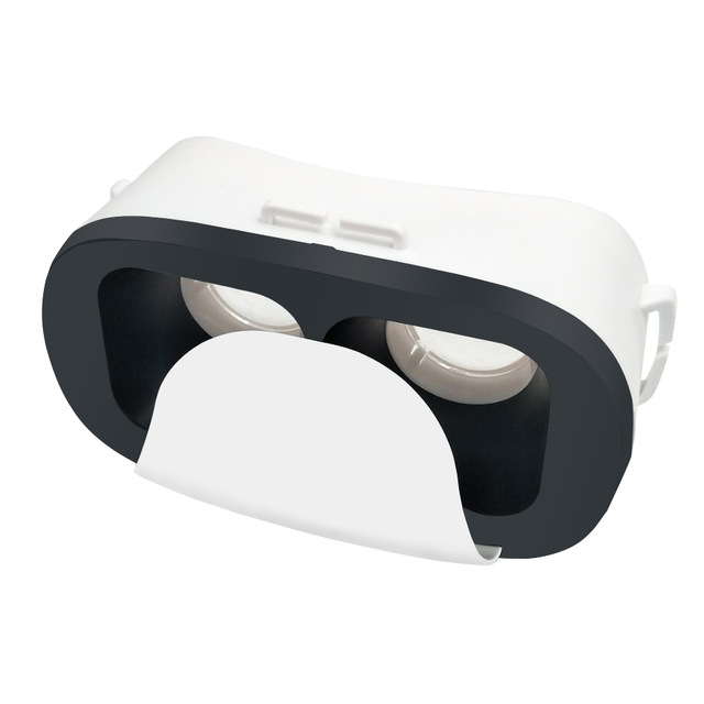 US $2 04 |VR 3D Virtual Reality Goggles Mini VR Glasses Google Cardboard  for Android ios Smartphone 4 0 6 0 inch FOV 120 3D Glasses-in 3D Glasses/