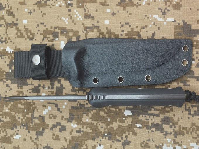 Buy Black Dragon Tactical Fixed Knives,DC53 Blade G10 Handle Hunting Survival Knife. cheap