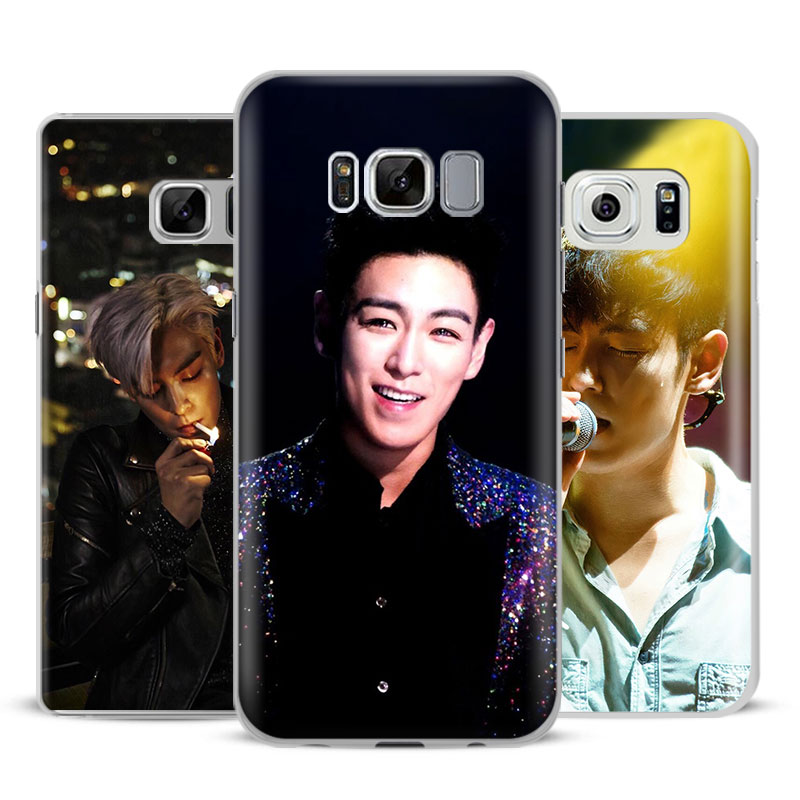 BigBang T.O.P Fashion Mobile Phone Case Cover Bags For Samsung Galaxy S4 S5 S6 S7 Edge S8 Plus Note 8 2 3 4 5 A5 A710 J5 J7 2017