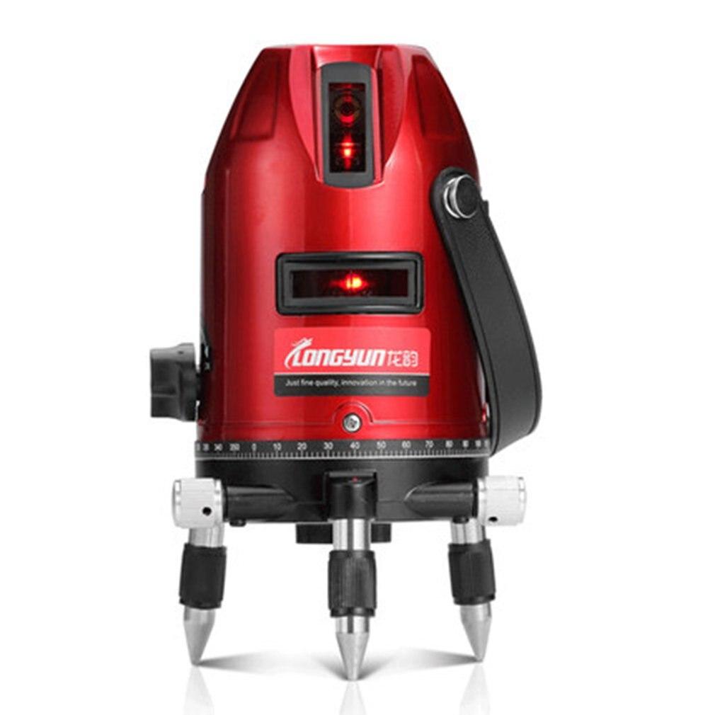 LOMVUM 2 3 5 lignes 2 4 6 points niveau Laser extérieur auto-nivelant 360 niveau de Laser à inclinaison verticale et horizontale niveau de trépied
