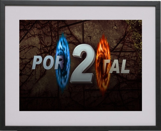 Portal 2 Game Style Vintage Canvas Art Print Painting Poster Wall Pictures For Living Room Home Decoration Decor No Frame 4