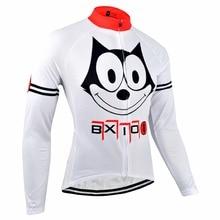 Bxio Winter Thermal Fleece font b Men s b font Cycling Jersey font b Shirt b