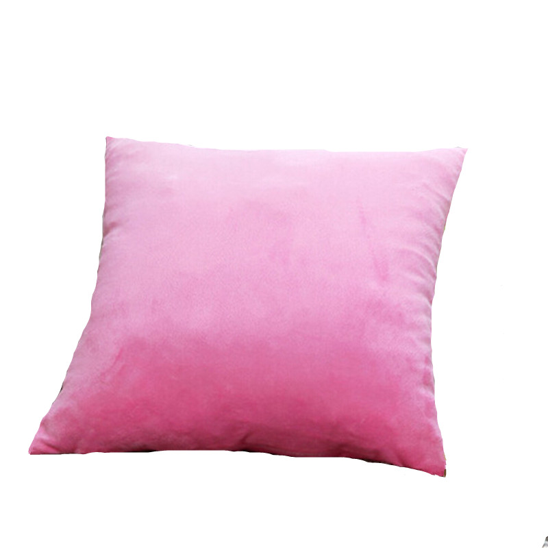 Cushion Cover Style Pink Green Decorative Throw Pillows