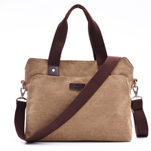 BLD Brand New Canvas Business Briefcase Tote Casual Laptop B