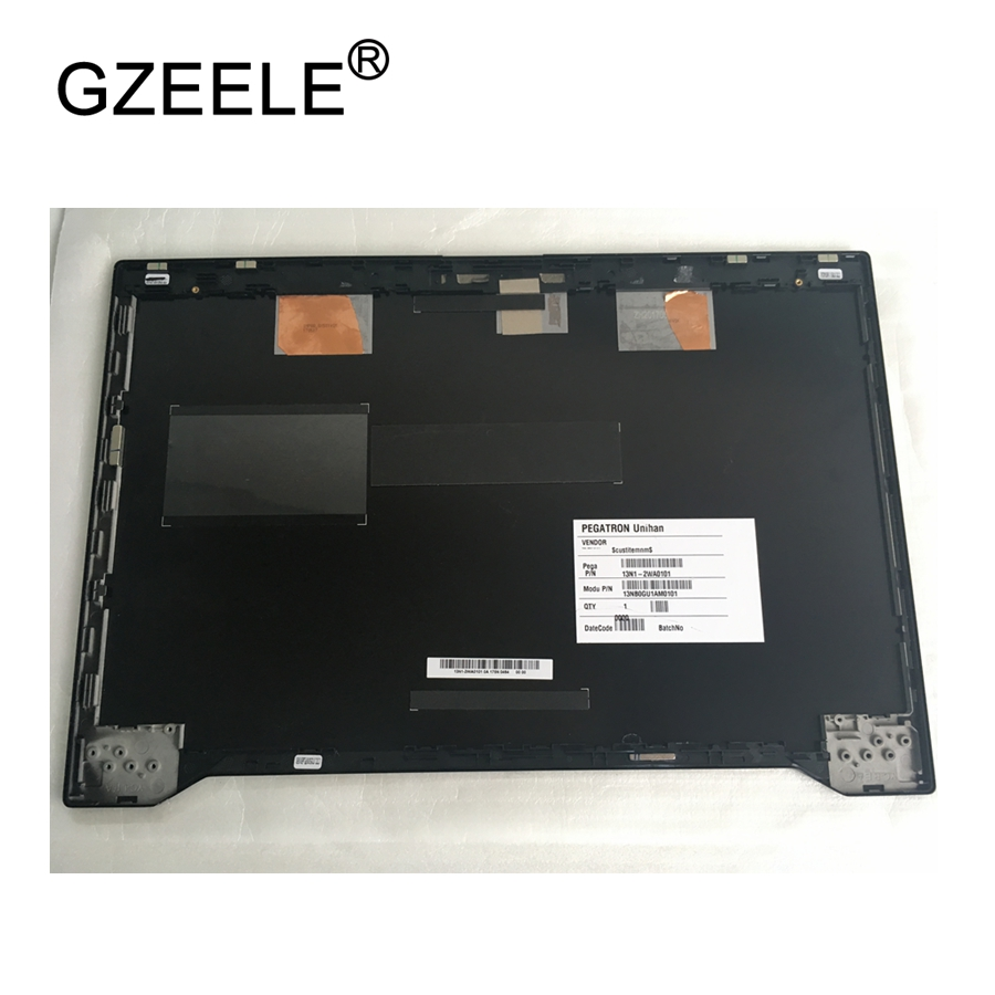 GZEELE New laptop LCD Top Cover For ASUS GX501 GX501VI Lcd rear cover back A shell LCD Back Cover PN : 13N1-2WA0101 13NB0GU1AM01 new for asus rog gl702gl702vs gfx71j4860 gl702vm lcd back cover 13nb0cq1am0111