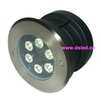 Stainless Steel High Power Good Quality 6W LED Outdoor Light DS 11S 06 6W 6X1W 12VDC