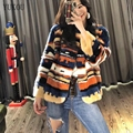 Natural Mink fur Winter Woman Coats 2018 Genuine Fur Coats Women Real Mink Fur Coat Plus Size Fedex SHIPPING