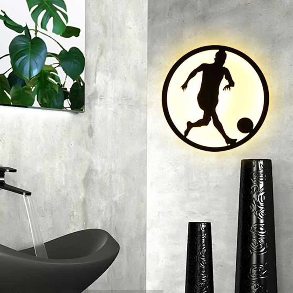 Modern sconce lighting football wall mounted bedside reading light modern sconce lighting football wall mounted bedside reading light creative wall lamp living room home lighting sconces in wall lamps from lights lighting mozeypictures Images