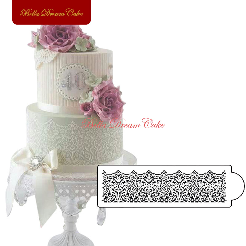 Cake Decorating Store Voucher Codes : Victorian Lace Cake Stencil Side Wedding Stencil Party ...