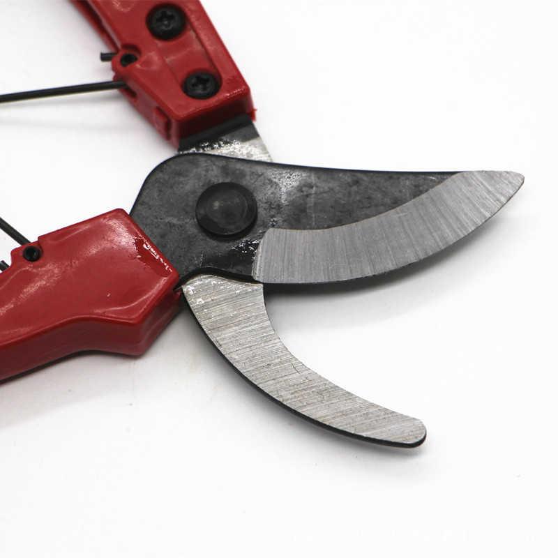 Nuevo Producto de acero inoxidable herramienta de injerto de jardinería herramientas de podar árboles frutales tijeras de resorte antideslizantes