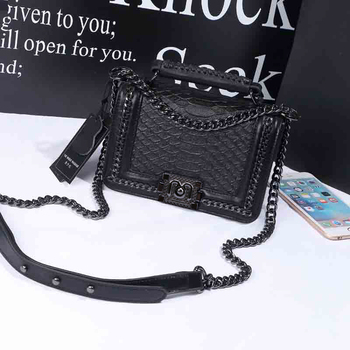 Female Leather Shoulder Bag