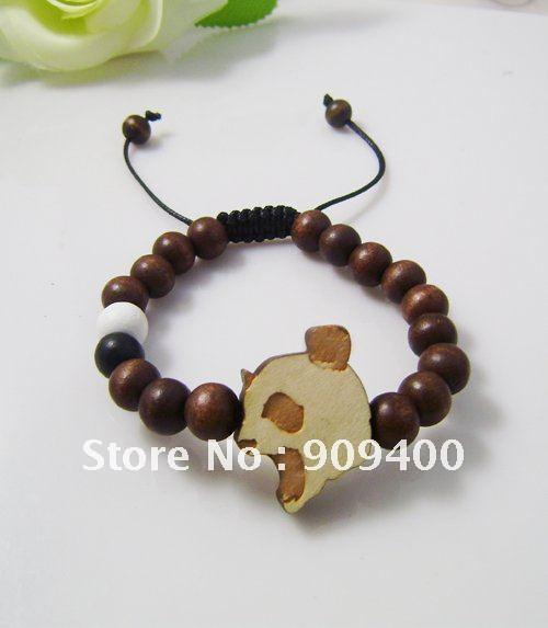 Good Wood Bracelet 100 Hip Hop Jewelry Goodwood Panda Hiphop Shamballa 50pcs Lot In Strand Bracelets From Accessories On