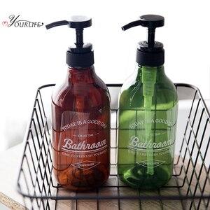Image 2 - Oyourlife 600 Ml Zeepdispenser Cosmetica Flessen Badkamer Handdesinfecterend Shampoo Body Wash Lotion Fles Outdoor Reizen Fles