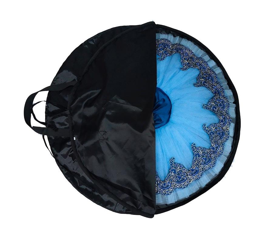 Tutu-Bag Ballet-Tutu Professional Black Waterproof Soft Rose-Red Case Package Oxford
