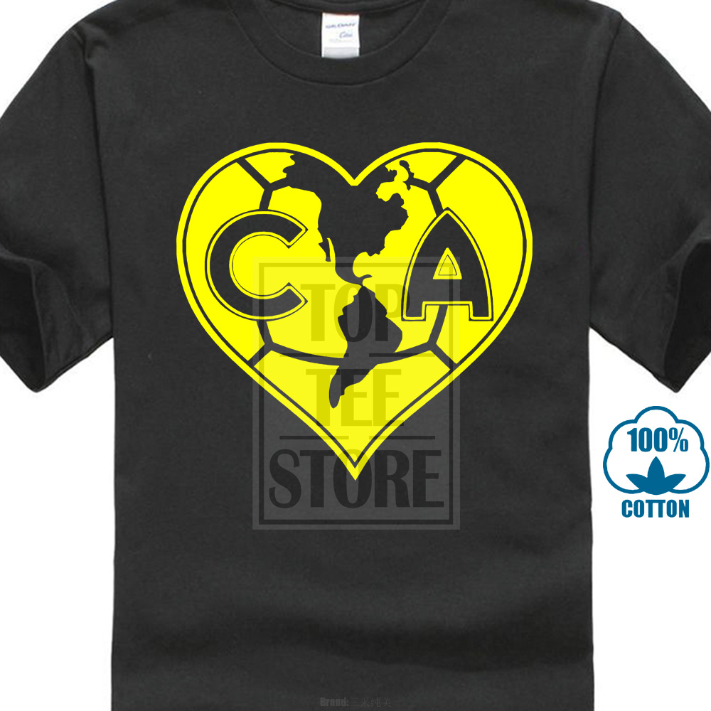 9336d5d6608 Detail Feedback Questions about Club America Mexico Soccer Fmf Futbol T  Shirt Camiseta Americanista Corazon Ame Short Sleeve T Shirt Funny Print  Top Tee on ...