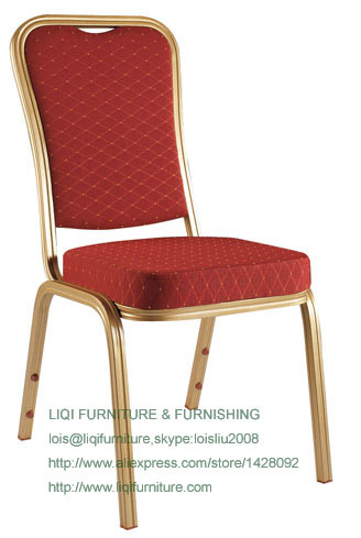 Wholesale Quality Strong Modern Aluminum Stacking Banquet Chairs LQ-L208