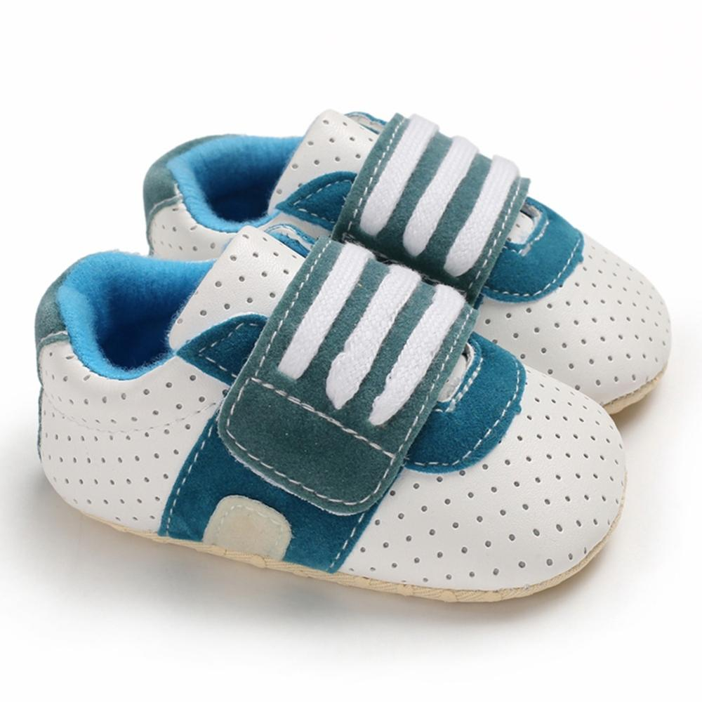 Baby Boys Breathable Anti-Slip Shoes Sneakers Soft Soled Walking Shoes First Walkers 0-18 New