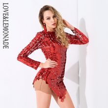 Popular Red Sequin Mini Dress-Buy Cheap Red Sequin Mini Dress lots ... 952ebed8f6a0