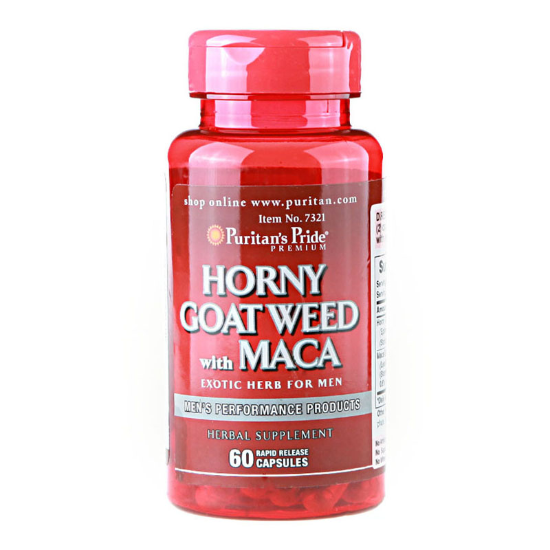 Free shipping Horny Goat Weed with MACA 60 pcs