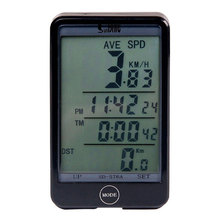 Sunding SD 576C SD-576C Waterproof Large Screen Mode Touch Wireless Bicycle Computer Odometer with LCD Backlight 2019 sunding sd 576c sd 576c waterproof large screen mode touch wireless bicycle computer odometer with lcd backlight 2019