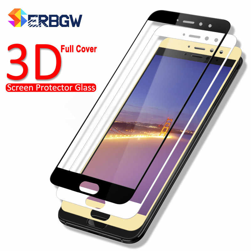 3D Full Cover Tempered Glass On The For Meizu M5 M5S M5C M6 M6S M6T M5 Note M6 Note Pro 6 7 Screen Protector Protective Glass