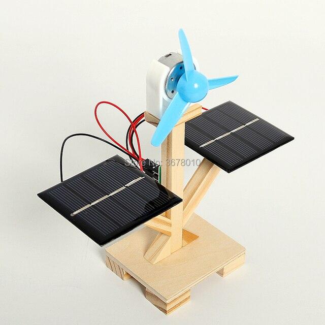DIY Wooden Solar Fan  2