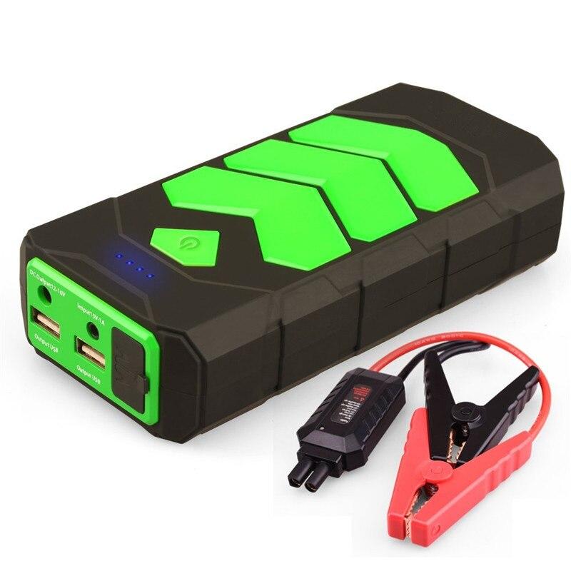 Dispositif de démarrage 12 V Portable 12000 mAh Démarreur Voiture De Saut D'urgence De Voiture Chargeur Pour Batterie De Voiture Booster Diesel Voiture Jumper démarreur