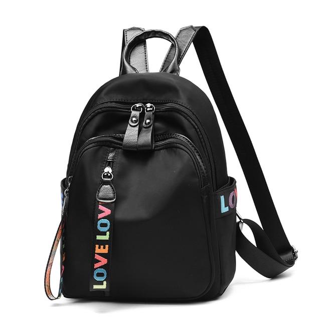 7fed8bf5ba5f 2018 Women Backpack New Best Travel Backpack Student School Bag Canvas  Backpack Female Girl Mochila bagpack laptop bag MingDu
