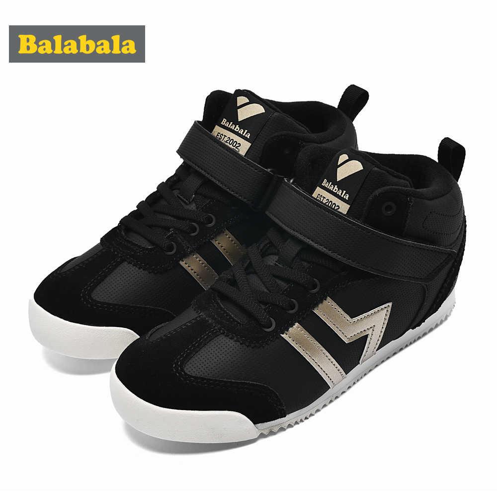 Balabala ילדי ספורט נעלי בני בנות נעלי ריצה לנשימה סתיו חורף אופנה קלאסי צבע חיצוני סניקרס לילדים