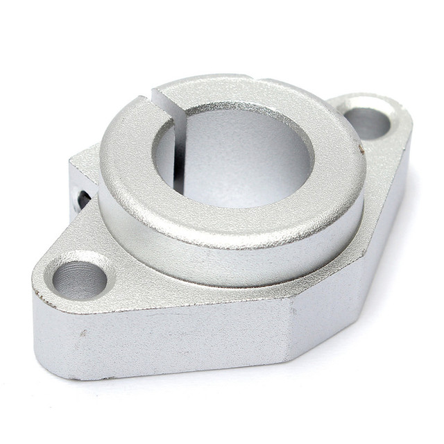 SHF16 16mm Bearing Shaft Support For 16mm rod Rail round shaft support diy Table CNC Router 50x31x16mm