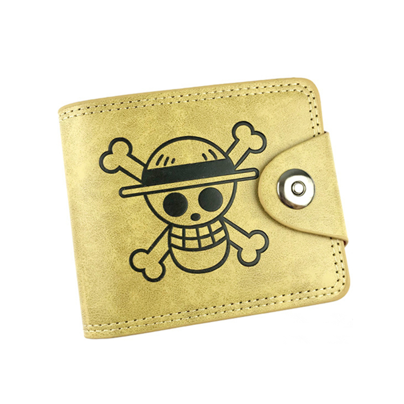 High capacity 10 card holder wallets purse male one piece skull Fairy Tail Death Note Final Fantasy wallet short money pocket japanese anime poke death note attack on titan one piece game ow short wallet with coin pocket zipper poucht billetera