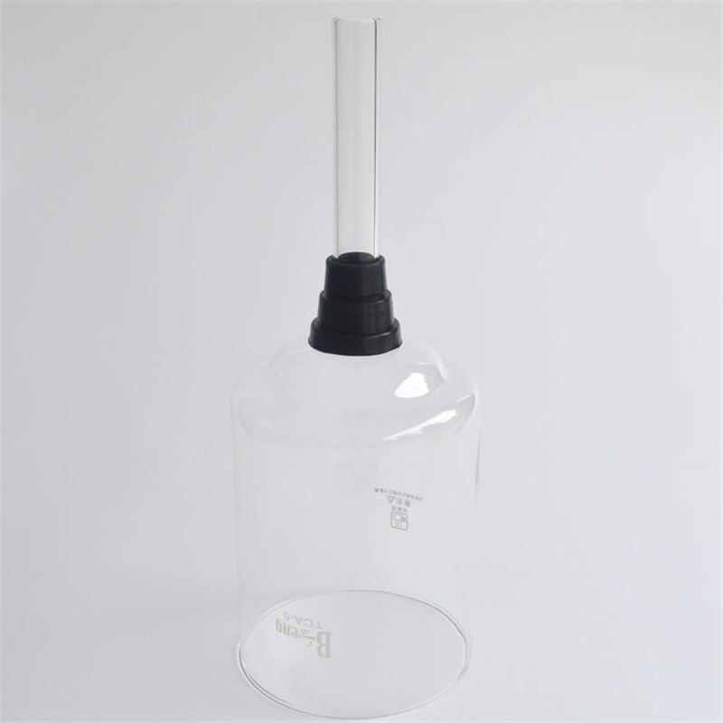 3-5 taza de vidrio de alta calidad sifón olla aparato de montaje/vacío cafetera de filtro de café cafetera filtro de herramientas y regalos