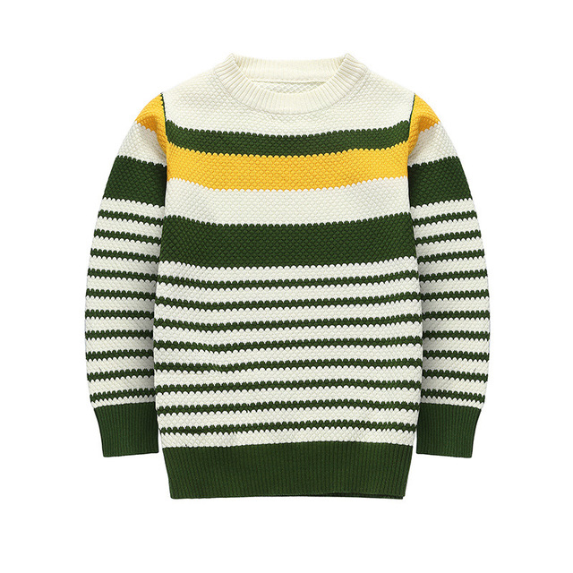 New Arrival 2016 Boys Sweater Autumn Long Sleeve Pattern Children Knit Tops Outerwear Casual Kids Sweaters 2-14 Year 18 Color